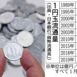 【1円玉】電子マネー普及で製造中止 15年製は価値が出る?