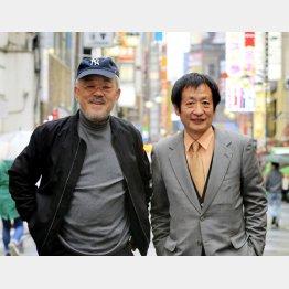 映画監督の井筒和幸氏と映画プロデューサーの奥山和由氏(C)日刊ゲンダイ