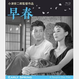 ブルーレイ「早春 デジタル修正版」/発売・販売元:松竹(C)1956/2017 松竹株式会社