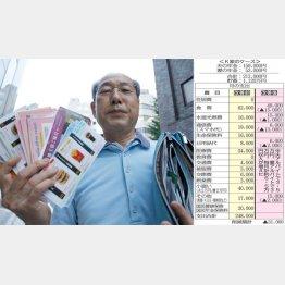 しっかり勉強している(元棋士で投資家の桐谷広人さん)(C)日刊ゲンダイ