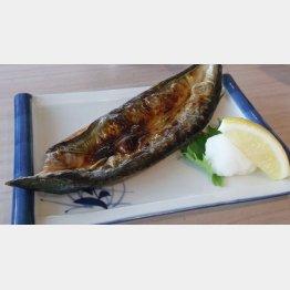 灰干しサンマの焼き魚(C)日刊ゲンダイ