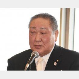 日本大学の田中理事長(C)日刊ゲンダイ