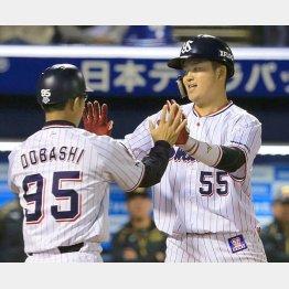 9本塁打はチームトップの村上(C)日刊ゲンダイ