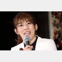 吉田沙保里(C)日刊ゲンダイ