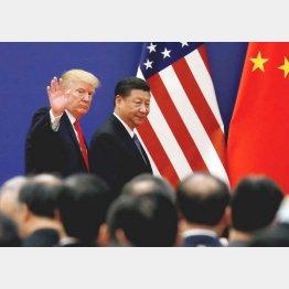 米中貿易戦争の行方は…(C)ロイター