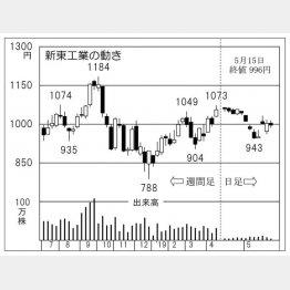 新東工業(C)日刊ゲンダイ