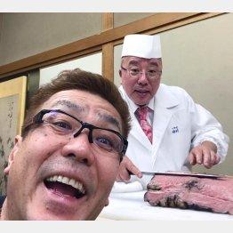「つきぢ田村」の3代目・田村隆さん/(提供写真)