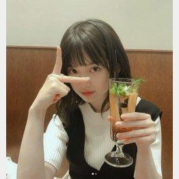 13日付、弘中アナの公式インスタグラム(C)日刊ゲンダイ