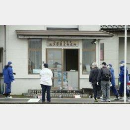前田が襲撃した駐在所(C)共同通信社