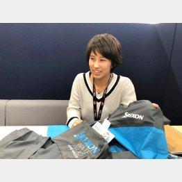 ダンロップスポーツマーケティングの松川由花さん(提供写真)