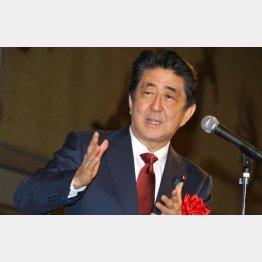 大義なんて関係なく、勝てる時に解散を打つのが安倍首相(C)日刊ゲンダイ