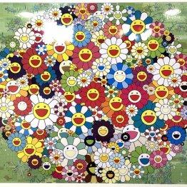 人気沸騰の村上隆作品 4万円台のポスターが10万円で取引も