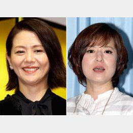 左から、小泉今日子と磯野貴理子(C)日刊ゲンダイ