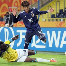 U-20W杯初戦はドロー 南米1位エクアドルに勝ち点1の光明