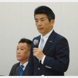 医師会潰し(右は重徳議員、左は中島議員)(C)日刊ゲンダイ