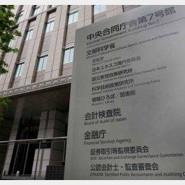 金融庁が入る中央合同庁舎第7号館(C)日刊ゲンダイ