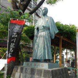 徳川家ゆかりの神社や龍馬像など歴史に触れつつ旧東海道を