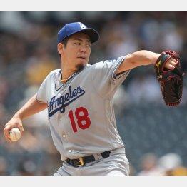 前田健太(C)ロイター/USA TODAY Sports