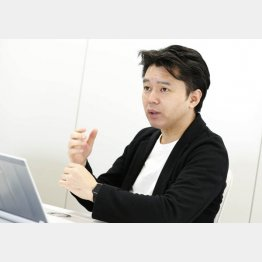 セイルボートの西野量社長(C)日刊ゲンダイ