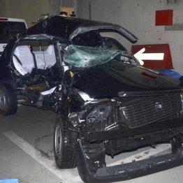 ベンツに激突された5人が乗っていたタクシー