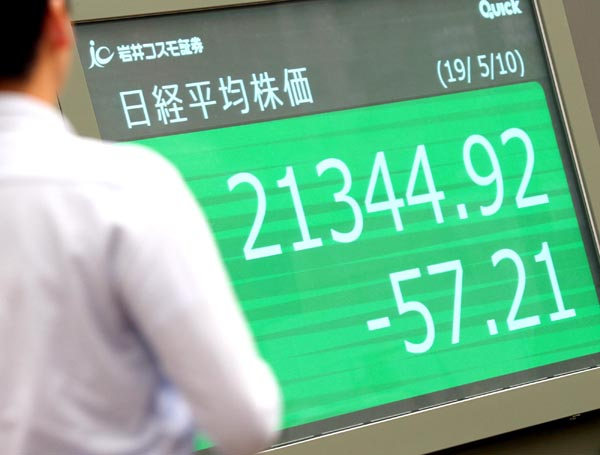 株価は低迷中(C)日刊ゲンダイ