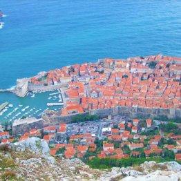 クロアチア「ドブロブニク旧市街」はキキがたどり着いた街