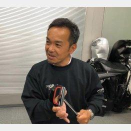 プロギア広報宣伝グループの川越洋志さん(提供写真)