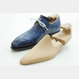 脱いだ靴はシューキーパーを入れて放置(C)日刊ゲンダイ