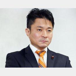 柿沢未途衆院議員(C)日刊ゲンダイ