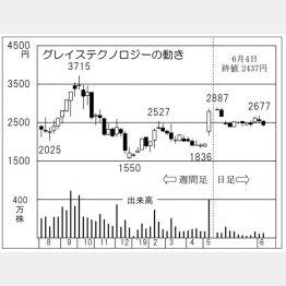 グレイステクノロジー(C)日刊ゲンダイ