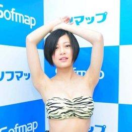 """Hカップ148cm超ミニマムボディー RaMu「""""まみれ""""てます」"""