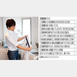 """""""洗濯王子""""こと中村裕一氏(C)日刊ゲンダイ"""