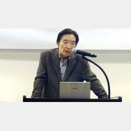 元日銀副総裁の岩田規久男氏(C)共同通信社