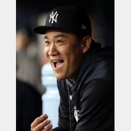 ヤンキースの田中(C)ロイター/USA TODAY Sports