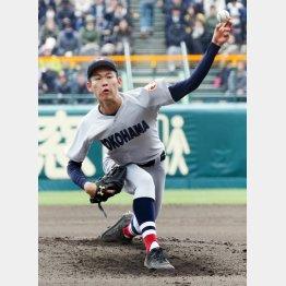 カギを握る横浜・及川(C)日刊ゲンダイ
