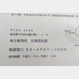 電話番号はデタラメ(C)日刊ゲンダイ