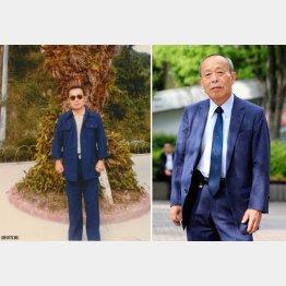 元麻薬取締官(マトリ)の高濱良次さん。左は仕事に自信を持ち始めた32歳の頃(C)日刊ゲンダイ