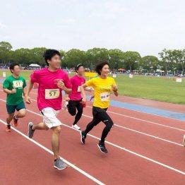 豊川リレーマラソンに参加(提供写真)