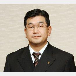 東郷証券の林泰宏取締役(C)共同通信社