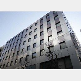 経営再建中のジャパンディスプレイ本社が入るビル(C)日刊ゲンダイ