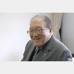 横浜港ハーバーリゾート協会会長の藤木幸夫氏(C)日刊ゲンダイ