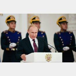 ロシアの軍事力は世界第2位(C)ロイター