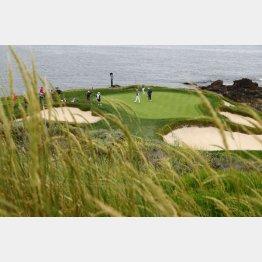 ペブルビーチゴルフリンクス(C)ロイター/USA TODAY Sports
