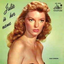 ジュリー・ロンドンのLPレコード(提供写真)