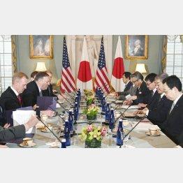 日米防衛当局は「原因究明で協力」とするものの…/(C)共同通信社