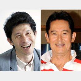 宮川一郎太(左)と山下慎司(C)日刊ゲンダイ