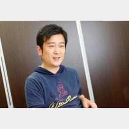 ポケットマルシェの高橋博之社長(C)日刊ゲンダイ