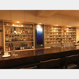 哲学カフェの会場となった「GALLERY&CAFE BAR KLEIN BLUE」(神田神保町)/(C)日刊ゲンダイ