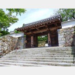 三千院の玄関「御殿門」