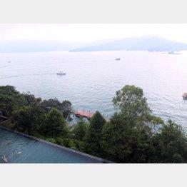 台湾で最も大きな湖「日月潭」(にちげつたん)/(C)日刊ゲンダイ
